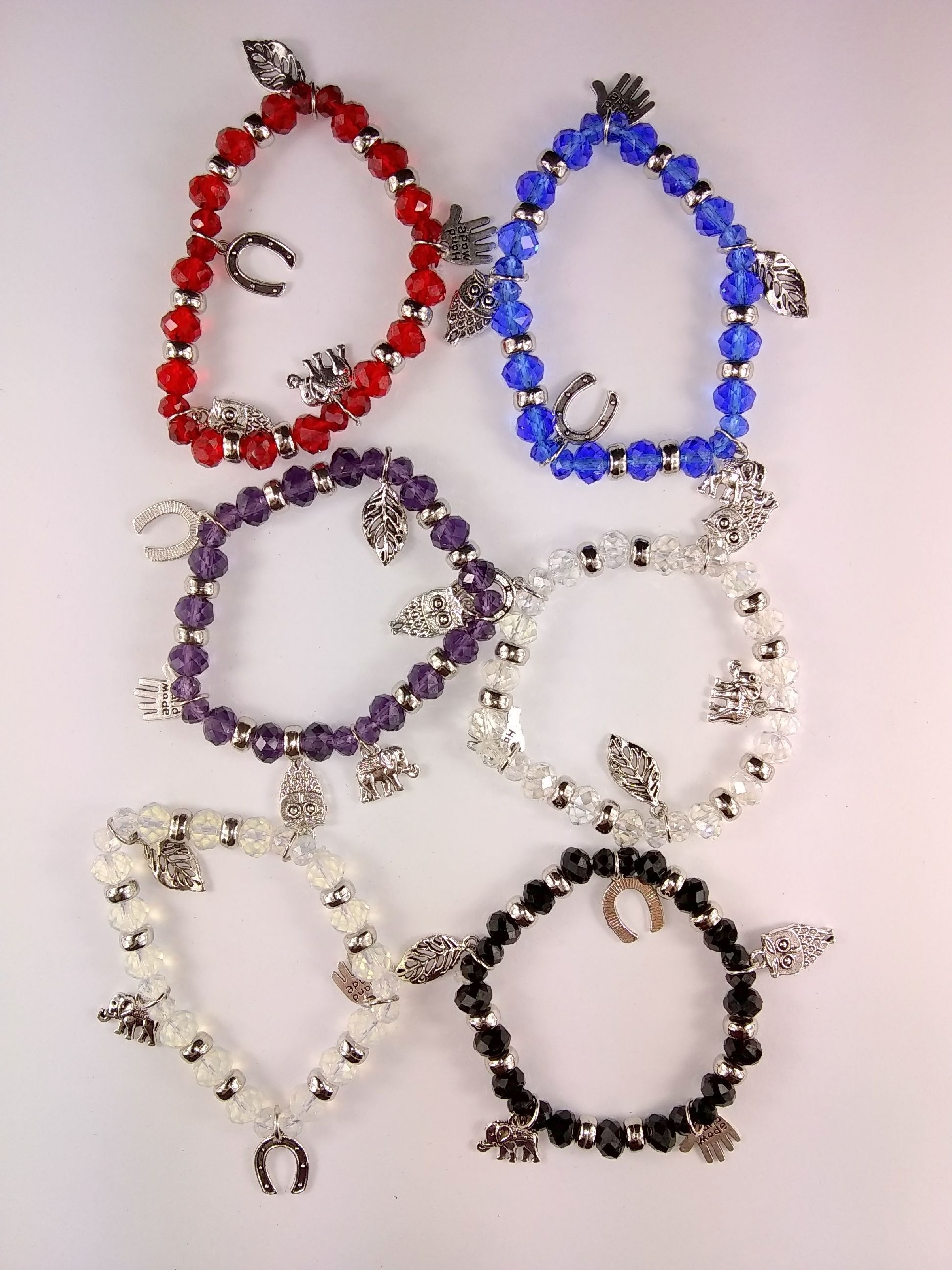 Fashion - Jewelry - Charm BRACELET SA-2080 SOLD BY THE DOZEN