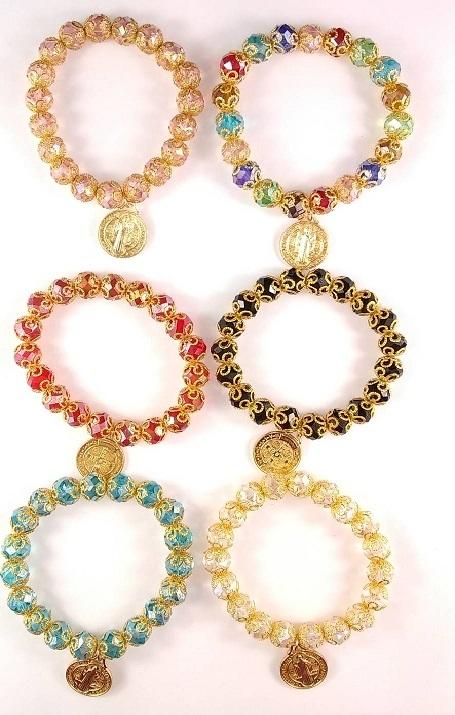 Fashion - Jewelry - BRACELET San Benito DBE-1691R SOLD BY DOZEN