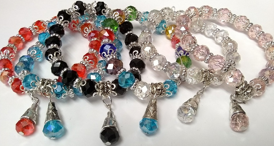 Fashion JEWELRY - Bracelet SA-2462 Crystal SOLD BY THE DOZEN