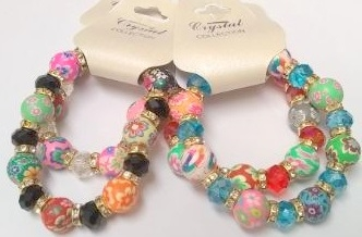 Fashion - Jewelry - Bracelet KBR-2747 PAINT SOLD BY THE DOZEN