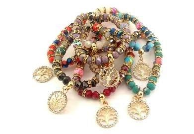 Fashion - JEWELRY - Tree Of Life Bracelet YBT-3656 SOLD BY DOZEN