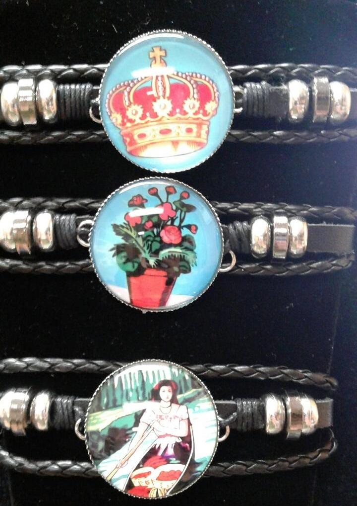 Fashion - Jewelry - Loteria Leather BRACELET BL405C SOLD BY DOZEN