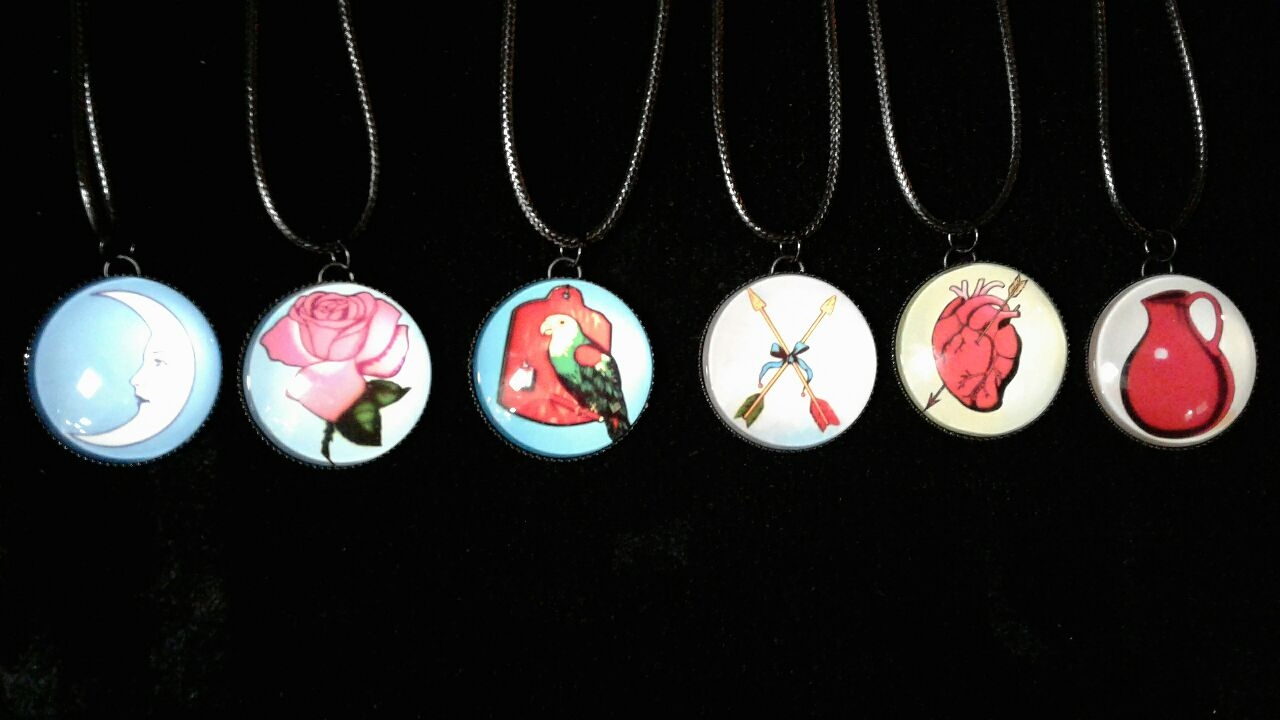 Fashion - JEWELRY - Loteria Necklace N384-B SOLD BY DOZEN