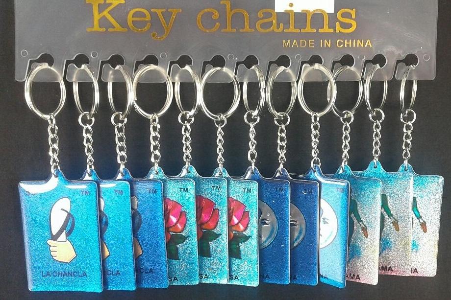 La Chancla Keychain