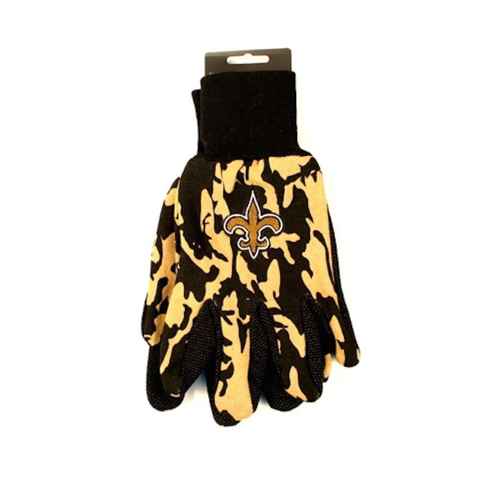 NFL New Orleans SAINTS Sports Utility Gloves - Camo