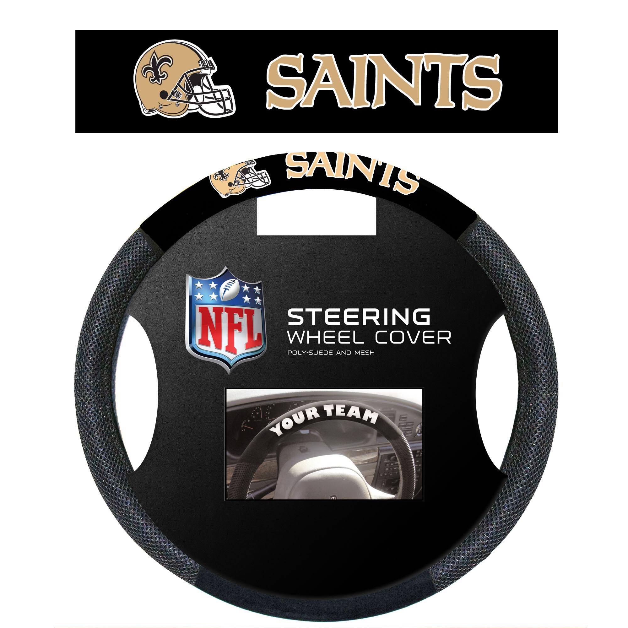 NFL New Orleans SAINTS Steering Wheel Cover