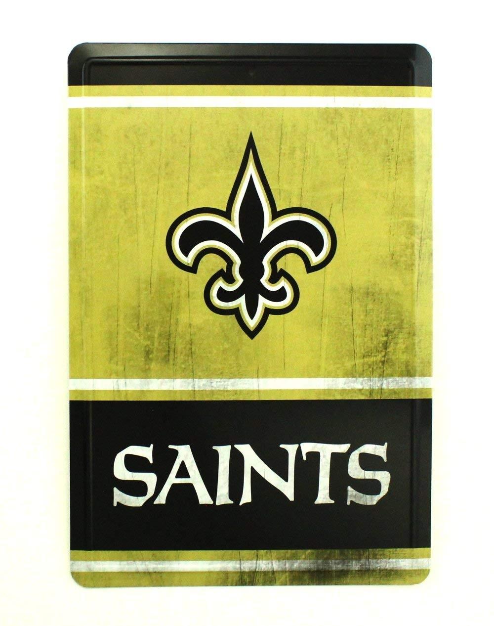 NFL New Orleans SAINTS Tin Sign