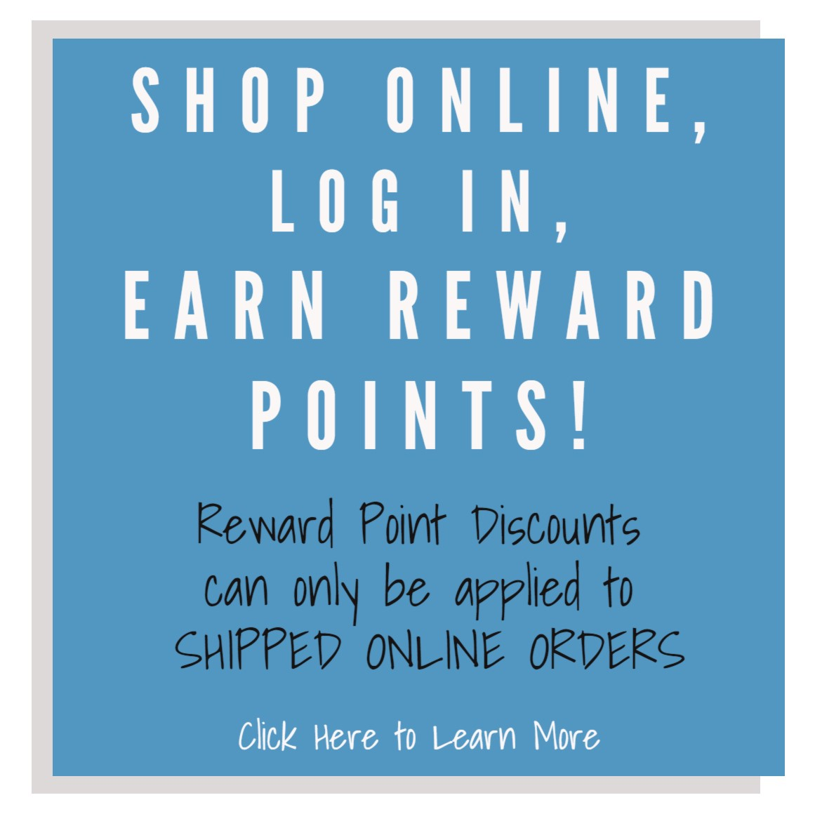Loyalty Points / Rewards Program